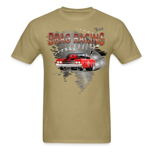 Drag Racing Chevrolet Chevelle T-Shirts - Men's T-Shirt