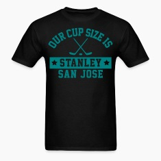 Cup Size Stanley San Jose T-Shirts