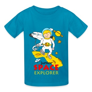 Junior Space Explorer - Kids' T-Shirt