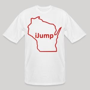 Wisconsin - iJump - Men's Tall T-Shirt
