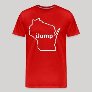Wisconsin - iJump - Men's Premium T-Shirt