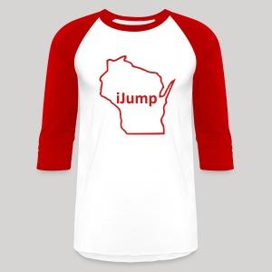 Wisconsin - iJump - Baseball T-Shirt