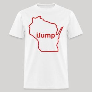 Wisconsin - iJump - Men's T-Shirt