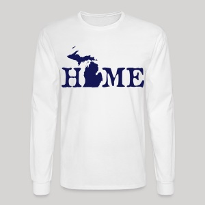 HOME - Michigan - Men's Long Sleeve T-Shirt