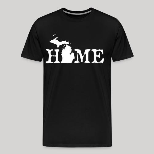 HOME - Michigan - Men's Premium T-Shirt