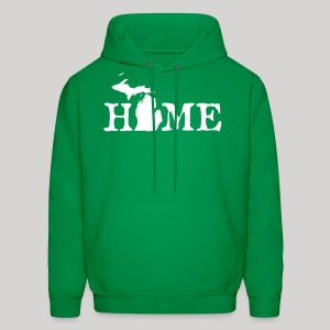 HOME - Michigan - Men's Hoodie