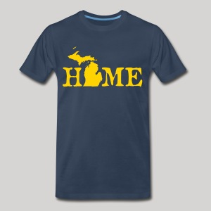 HOME - Michigan - Men's Premium T-Shirt