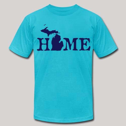 HOME - Michigan - Men's Fine Jersey T-Shirt