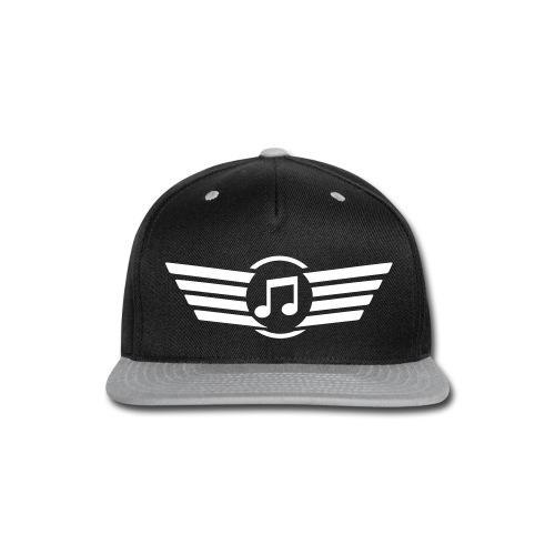 Music Note Snapback  - Snap-back Baseball Cap