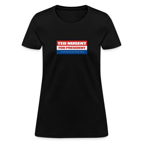 Women's Ted For Prez - Women's T-Shirt