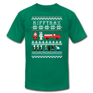 T-Shirts ~ Men's T-Shirt by American Apparel ~ Men's Ice Cream Bunny Ugly Sweater T-shirt