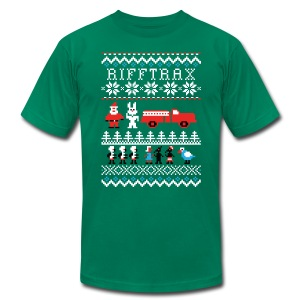 Men's Ice Cream Bunny Ugly Sweater T-shirt - Men's Fine Jersey T-Shirt