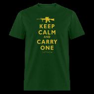 T-Shirts ~ Men's T-Shirt ~ Keep Calm Carry One