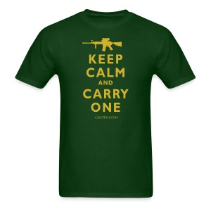 Keep Calm Carry One - Men's T-Shirt