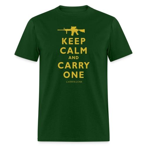 Keep Calm Carry One - Men's T-Shirt