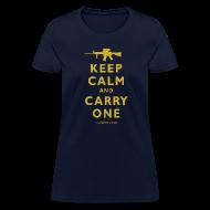 T-Shirts ~ Women's T-Shirt ~ Keep Calm Carry One