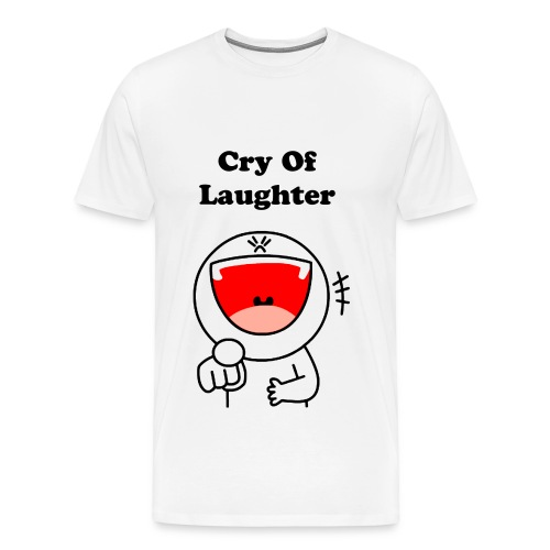 Cry Of Laughter  - Men's Premium T-Shirt