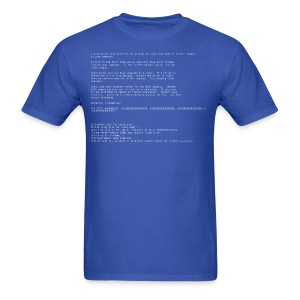Windows Blue Screen of Death - Men's T-Shirt