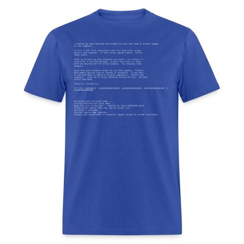 Windows Blue Screen of Death - Men's T-Shirt