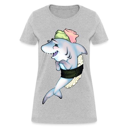 Don't Eat Me! Sushi Shark! - Women's T-Shirt