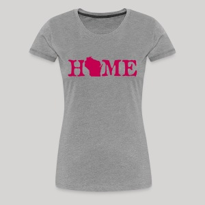 HOME - Wisconsin - Women's Premium T-Shirt