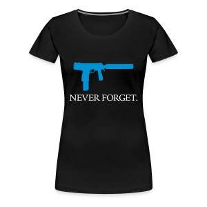 TMP-S - Never Forget - Women's Premium T-Shirt