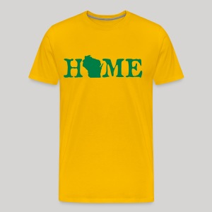 HOME - Wisconsin - Men's Premium T-Shirt