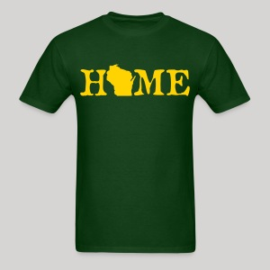 HOME - Wisconsin - Men's T-Shirt