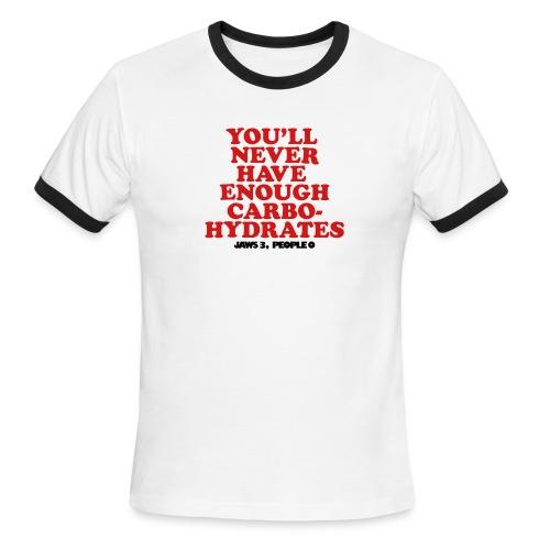 Jaws 3, People 0 - Men's Ringer T-Shirt