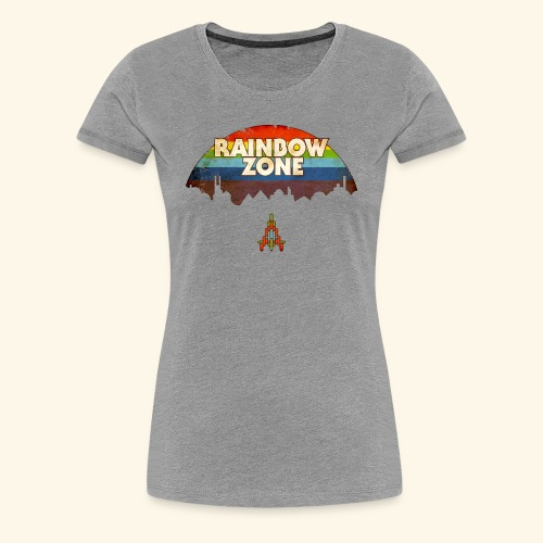 RainbowZone (free shirtcolor selection) - Women's Premium T-Shirt
