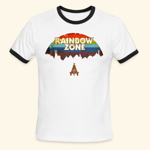 RainbowZone (free shirtcolor selection) - Men's Ringer T-Shirt