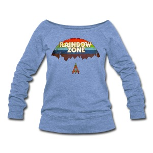 RainbowZone (free shirtcolor selection) - Women's Wideneck Sweatshirt