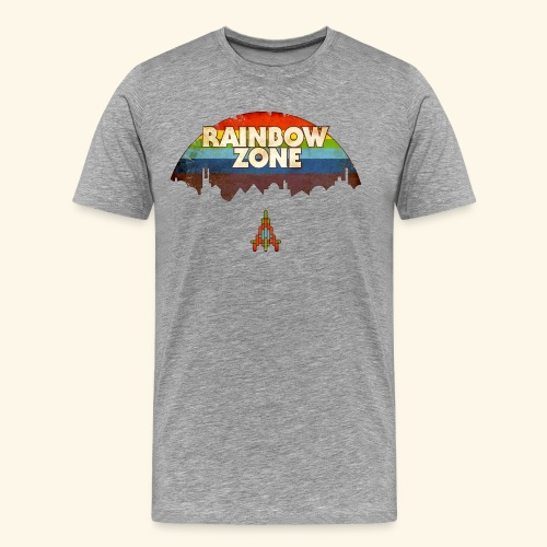 RainbowZone (free shirtcolor selection) - Men's Premium T-Shirt