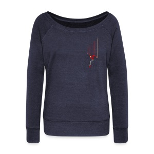 Freefall (free shirtcolor selection) - Women's Wideneck Sweatshirt
