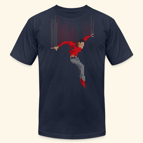 Freefall (free shirtcolor selection) - Men's Fine Jersey T-Shirt