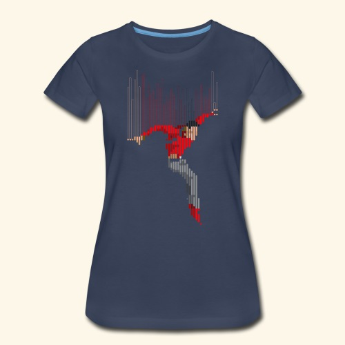 Freefall (free shirtcolor selection) - Women's Premium T-Shirt