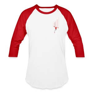 Freefall (free shirtcolor selection) - Baseball T-Shirt
