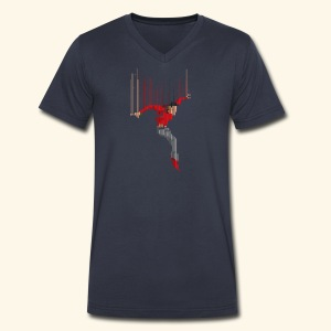 Freefall (free shirtcolor selection) - Men's V-Neck T-Shirt by Canvas