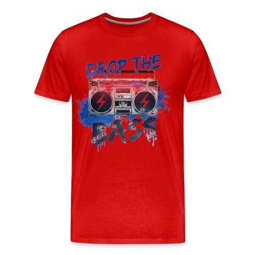 Drop The Bass T-shirt - Men's Premium T-Shirt