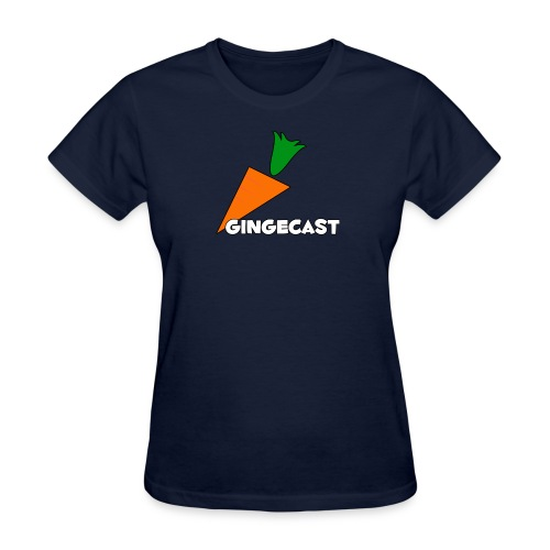 Wonen's Gingecast Carrot Crew SPECIAL EDITION - Women's T-Shirt