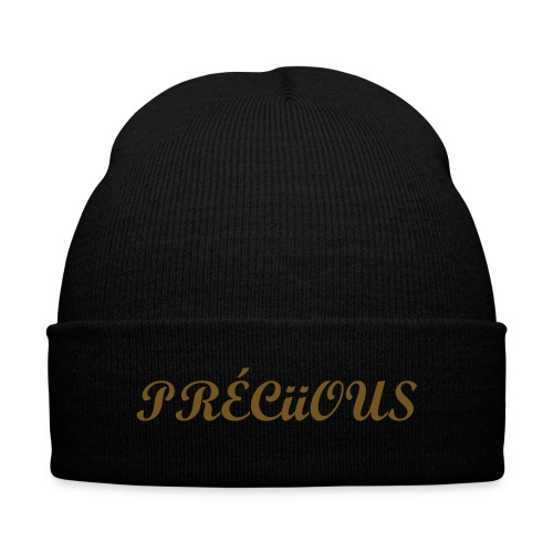Préciious - keep warm Hat for women's - Knit Cap with Cuff Print
