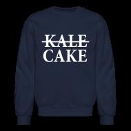 Long Sleeve Shirts ~ Crewneck Sweatshirt ~ KALE, CAKE