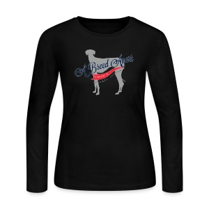 A Breed Apart logo women's long sleeve T shirt; Azawakh Division - Women's Long Sleeve Jersey T-Shirt