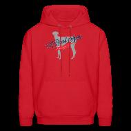 Hoodies ~ Men's Hoodie ~ A Breed Apart logo hoodie; Azawakh Division