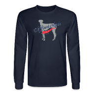 Long Sleeve Shirts ~ Men's Long Sleeve T-Shirt ~ A Breed Apart logo long sleeve T shirt; Azawakh Division