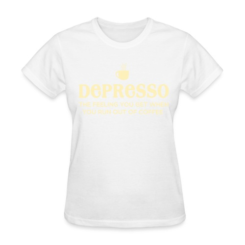 Depresso - Women's T-Shirt