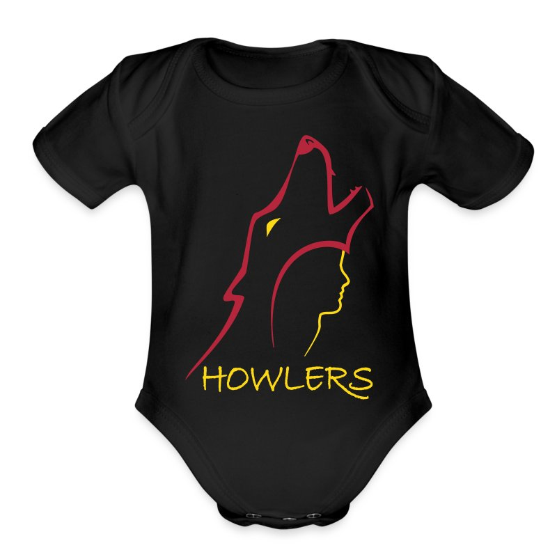 Short Sleeve Baby Bodysuit - Original design for Pierce Brown's Red Rising Trilogy
