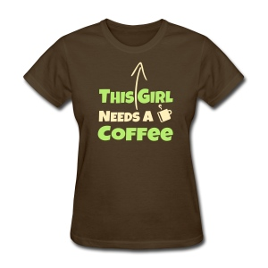 This Mom Needs A Coffee - Women's T-Shirt