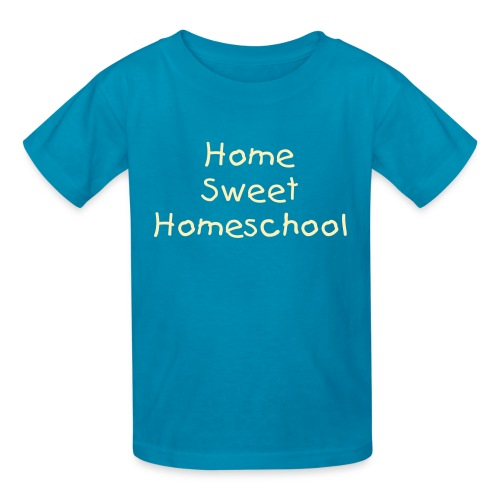 Home Sweet Homeschool- Child - Kids' T-Shirt