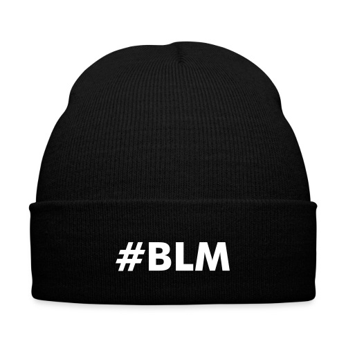 Black Lives Matter - Knit Cap with Cuff Print